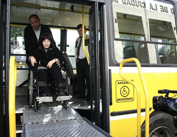 Colectivos para discapacitados