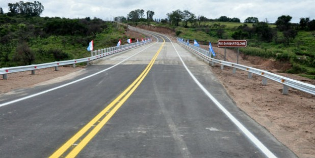 Puente Rio Los Sauces sobre ruta provincial 23