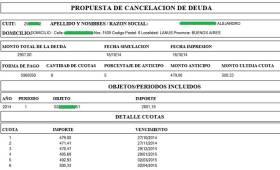 Plan de pago de multa de transito de Policia Caminera de Cordoba - 3_2