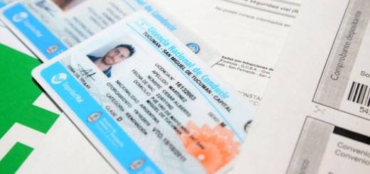 Carnet de conducir nacional Municipalidad de Cordoba