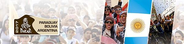 rally dakar argentina 2017 - san luis cordoba rosario santa fe carlos paz rio cuarto