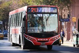 colectivos de cordoba transporte municipal linea 70