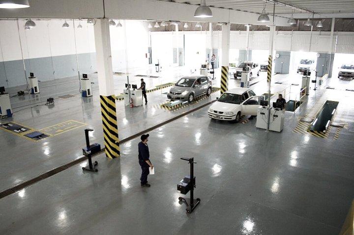 vista superior taller itv cordoba inspeccion vehicularr talleres de control autos motos cordoba