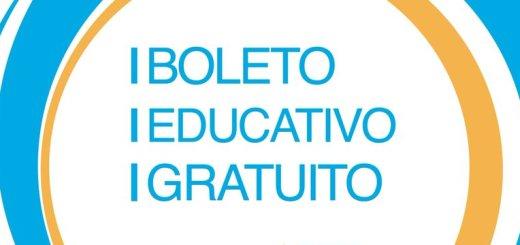 Boleto Educativo Gratuito Cordoba