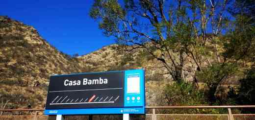 Estacion Casa Bamba Tren de las Sierras Cordoba