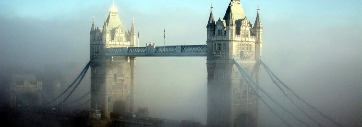 Foggy Tower Bridge by MsSaraKelly on Flickr
