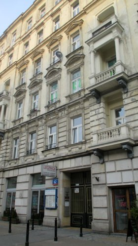 62 Marszalkowska Street in Warsaw, as seen today in 2015