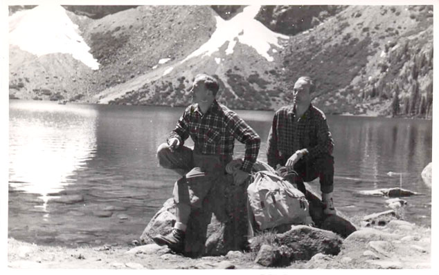 Warzyniec and Marek Zulawski in the Tatra Mountains
