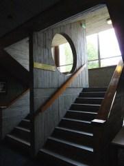 Université de Pau et de l'Adour; escalier;2016; Pau; France