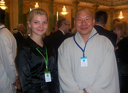 Buddha Monk & me
