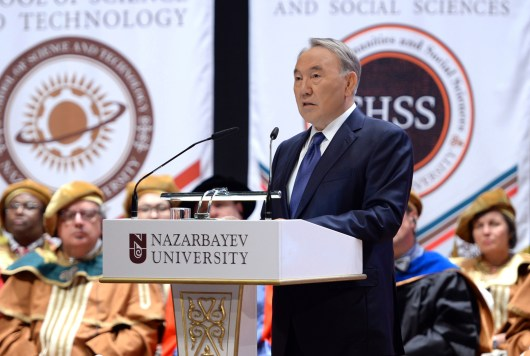 Iranslating for the President N.Nazarbayev in Astana