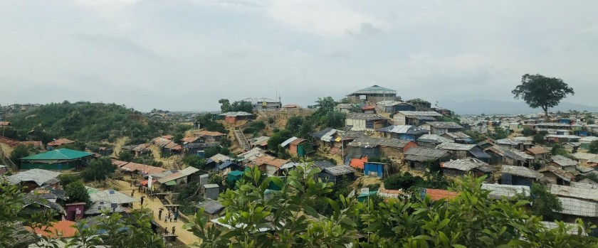 Signage in Rohingya Refugee camps feature photo