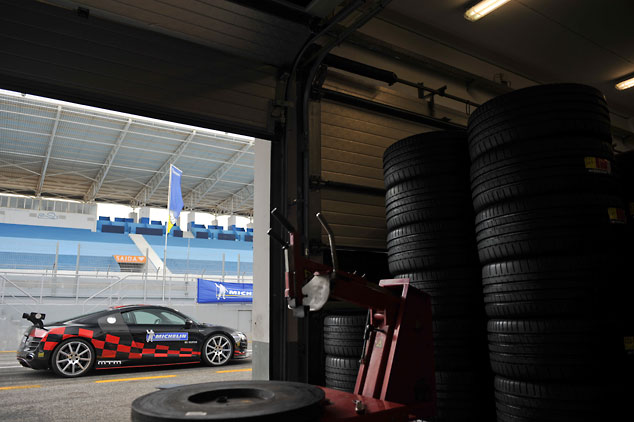 Michelin Pilot Performance tyres and the MTM Audi R8