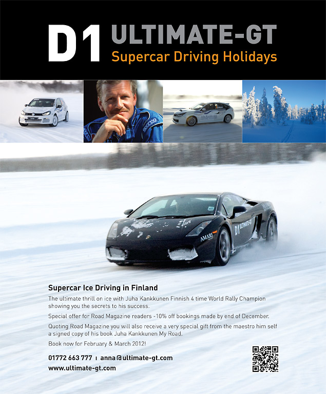 D1 Ultimate GT ROAD Magazine poster