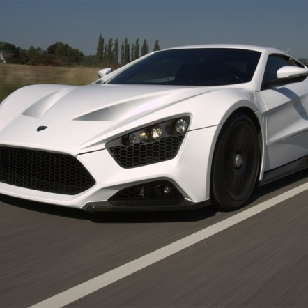 New pictures of the Zenvo ST1