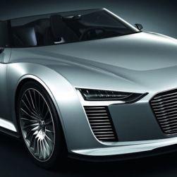 PARIS: Audi unveils the e-tron Spyder