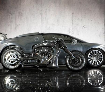 Geneva Watch: MANSORY produce a custom bike for Veyron owners