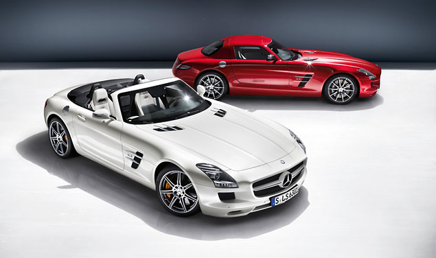 SLS AMG Roadster and Coupe