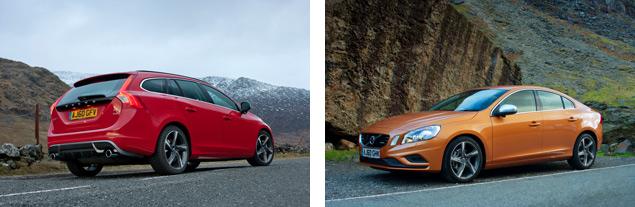 Volvo S60 and V60 R-Design models