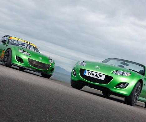 Mazda unveils track-inspired MX-5 Black Limited Edition