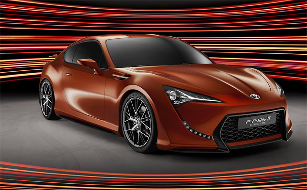 Frankfurt 2011: New images of the Toyota FT-86 II Concept (w/VIDEO)