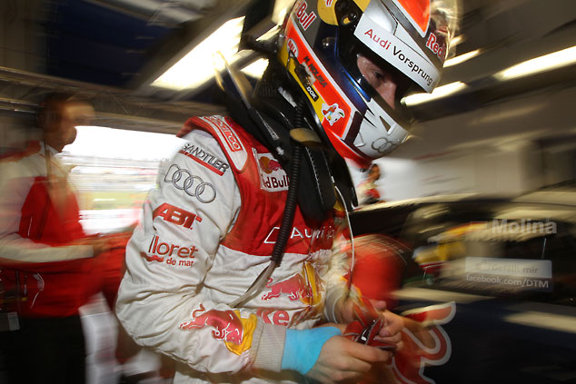 Audi dominated the DTM race in Oschersleben