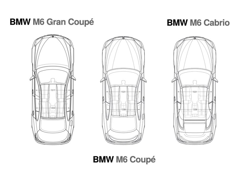 BMW M6 - Overhead