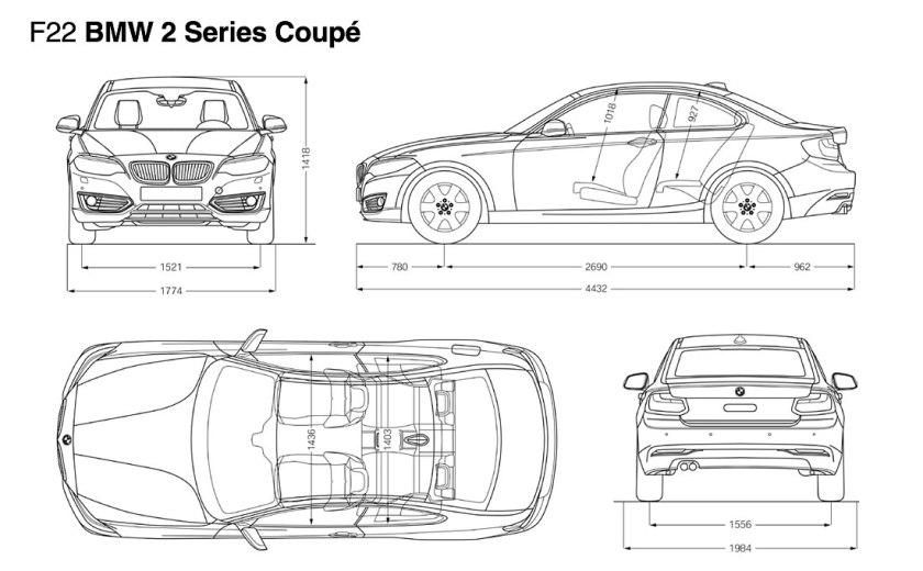 BMW-2-Series-wireframe