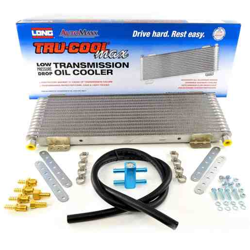 Tru Cool 40k transmission cooler LPD4739 with thermal bypass - Transmission Cooler Guide