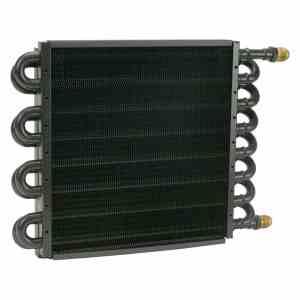 Derale 15300 tube and fin transmission cooler - Transmission Cooler Guide