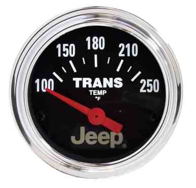 Autometer Jeep transmission temp gauge - transmission cooler guide
