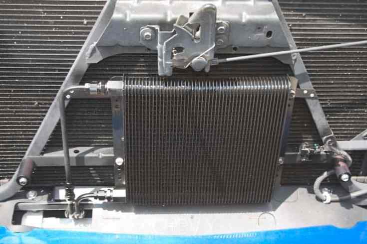B&M 70274 SuperCooler on Silverado - Transmission Cooler Guide