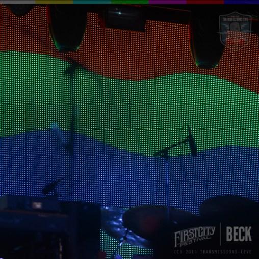 BECK Live @ The First City Festival #firstcityfest2014