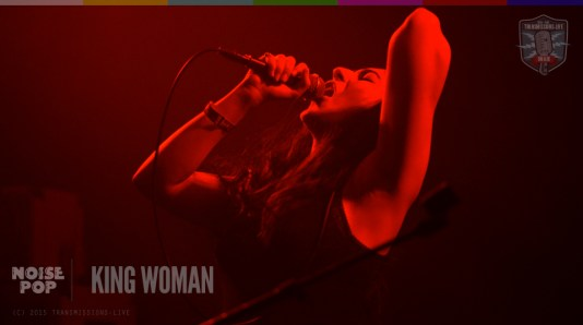 King Woman Live @ Rickshaw Stop - Noise Pop 2015