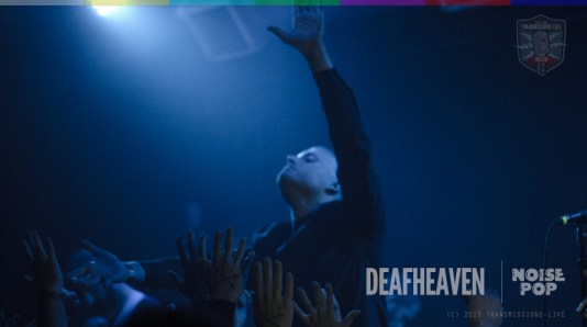 deafheaven live at noise pop