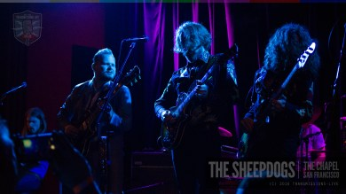 The Sheepdogs Live @ The Chapel S.F.