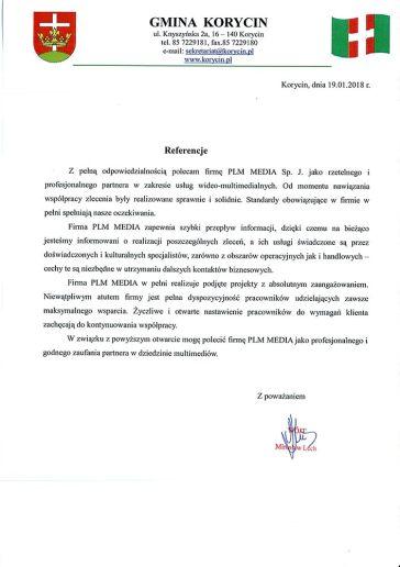 Korycin_referencje