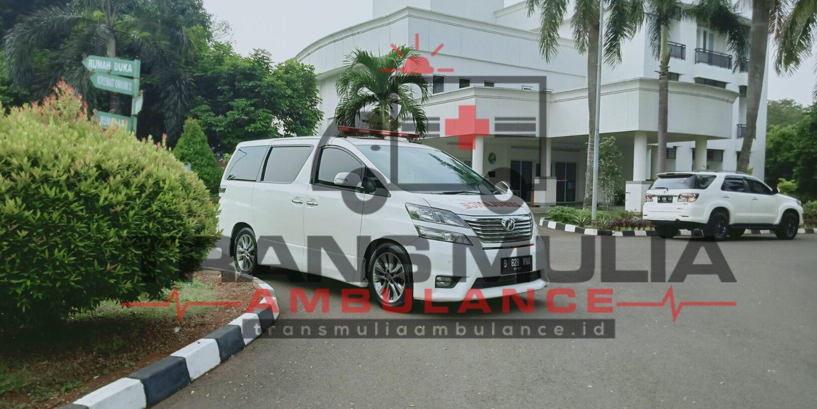 Rental Mobil Alphard Untuk Jenazah Transmulia Ambulance Id
