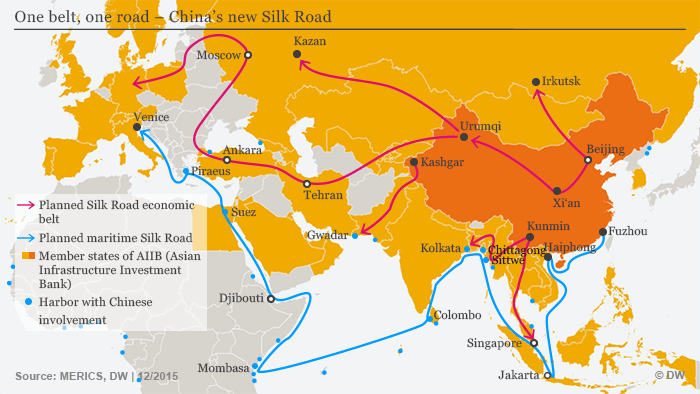 China′s ′New Silk Road′ goes straight through the Caucasus – Georgia