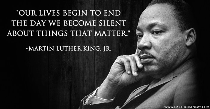 """MLK: The Year of """"Nonviolence or Non-Existence"""""""