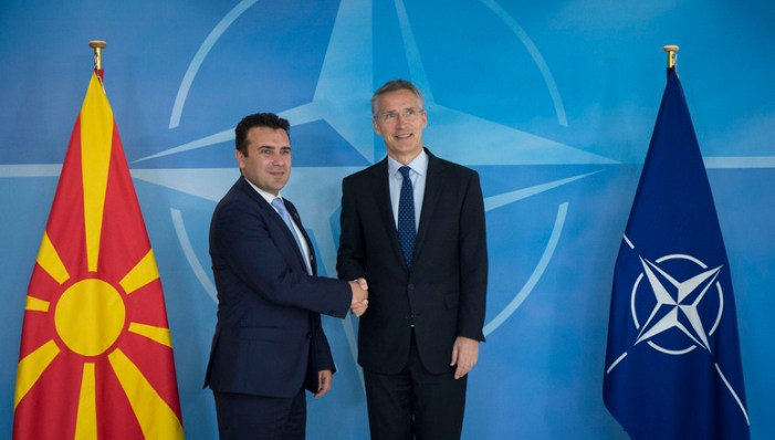 Macedonia's name and NATO