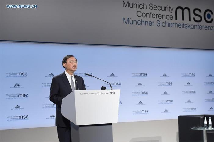 China at the Munich Security Conference 2019: A positive vision