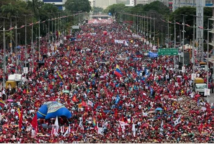 Venezuela, demokratin och folkrätten