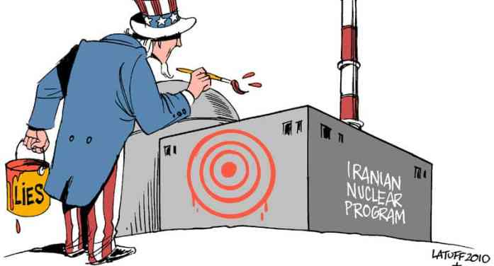 What lies behind the race toward war with Iran?