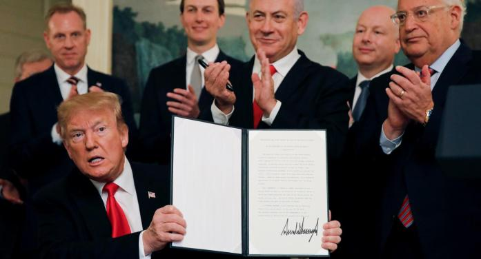 Trump's Deal Of The Century is the – cruel – Farce of The Century
