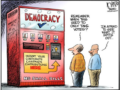 The rise and fall of US democracy