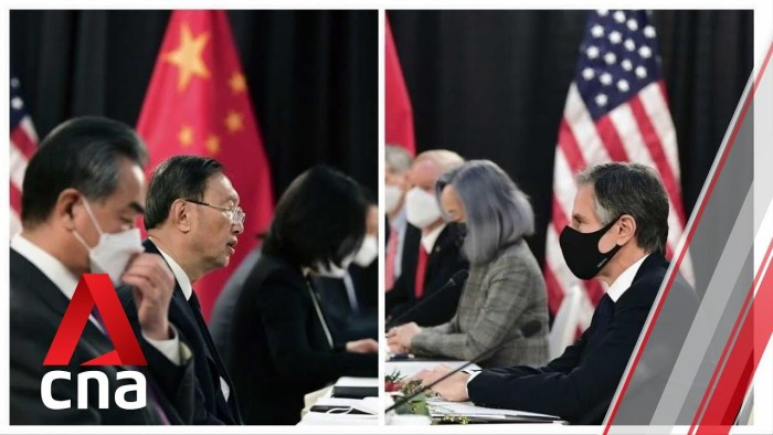 How it happened: Transcript of the US-China opening remarks in Alaska