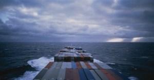 Allan Sekula Panorama. Mid-Atlantic, November 1993, from Fish Story 1989–95