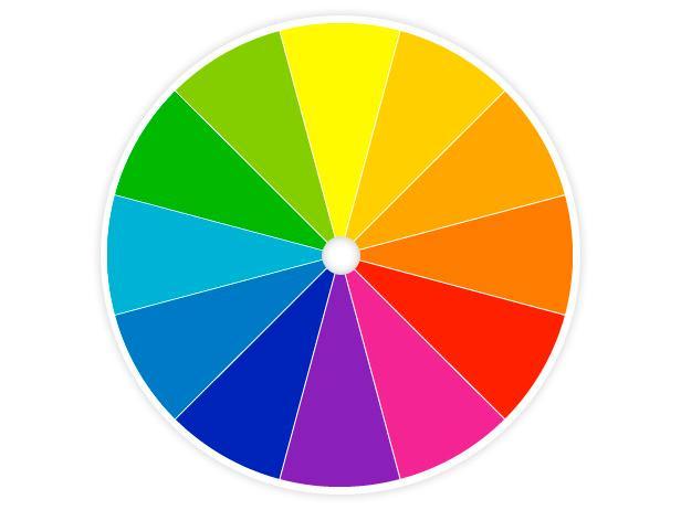 beard shadow on the color wheel
