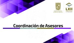 COORDINACION DE ASESORES